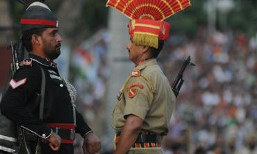 Wahga border: The disgraceful ceremony