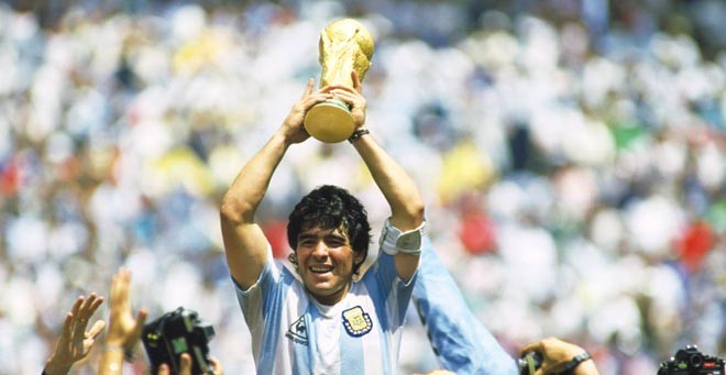 'For Argentina, it was Maradona and 10 men'