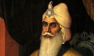 The Maharaja's American visitor