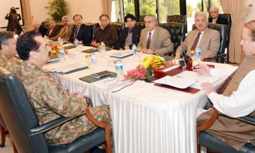 Military courts for now
