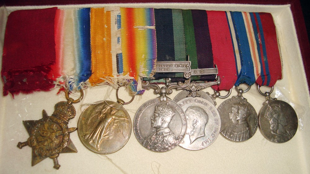 The quest for Victoria Cross
