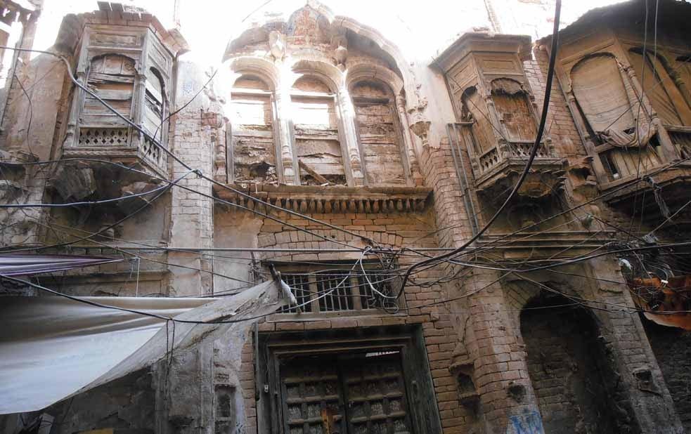 Through old Kohat