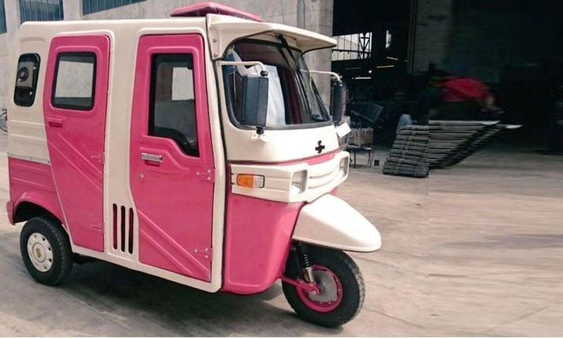 Say no to pink rickshaws, please!