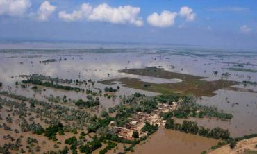 Climate change calamity