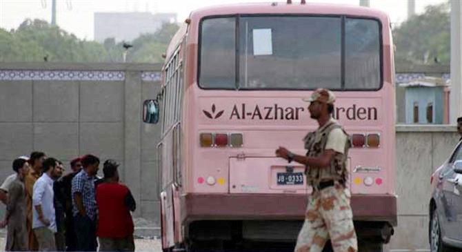 43 Pakistanis on that bus