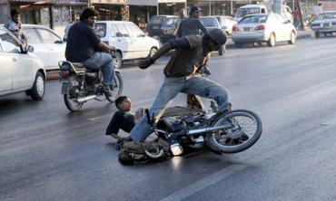 Disturbing data on motorcycle accidents