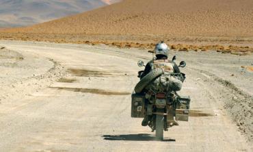 2000 kilometres on a motorbike