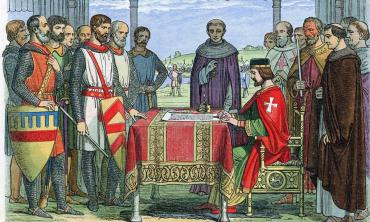 800 years after Magna Carta