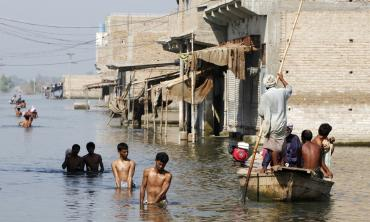 Tackling climate change in Sindh