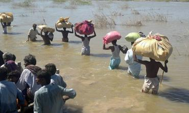 The land where floods are blessings