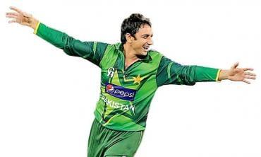 I never give up -- Saeed Ajmal