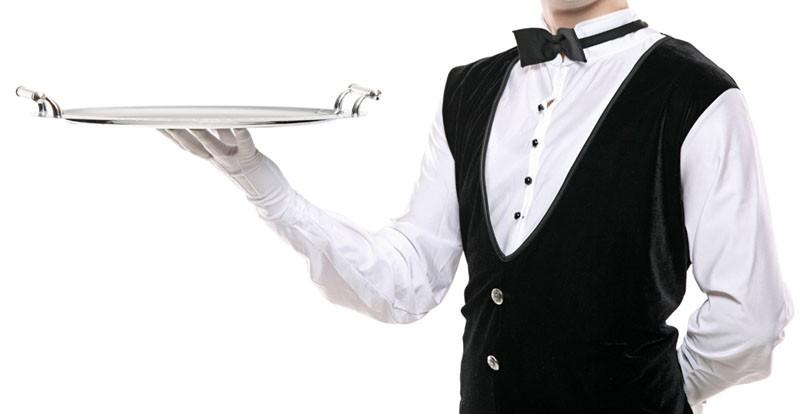Javed, the waiter