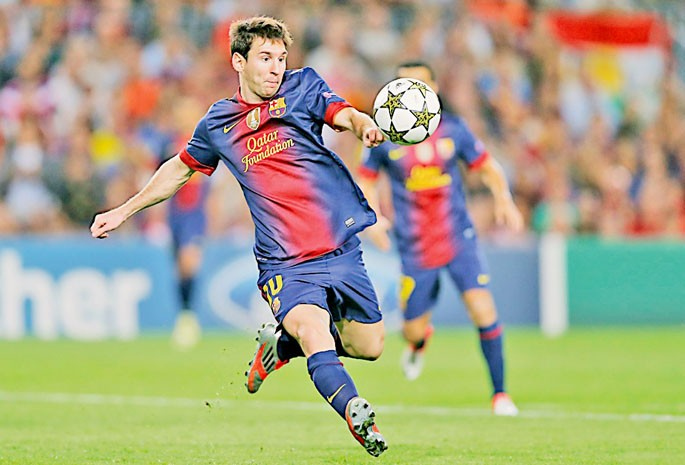 Messi-merised, but not completely