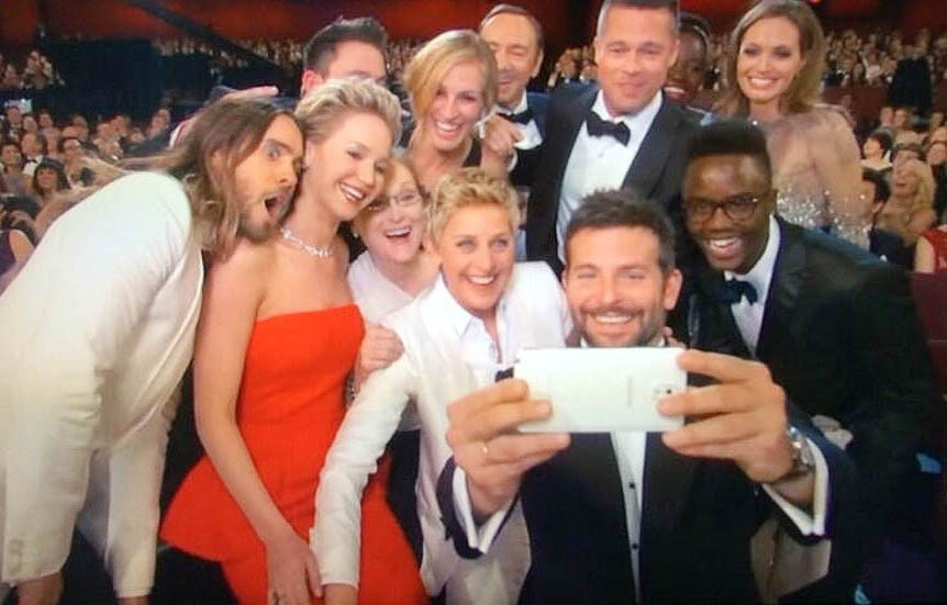 Selfie-centred!