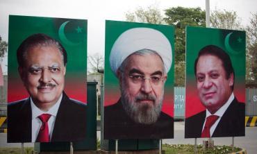 Looking towards Iran