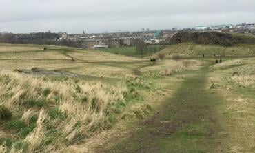Edinburgh alone