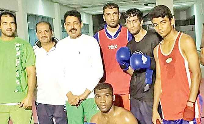 The boxers' test in Baku