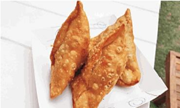 A samosa with a lot more than aloo
