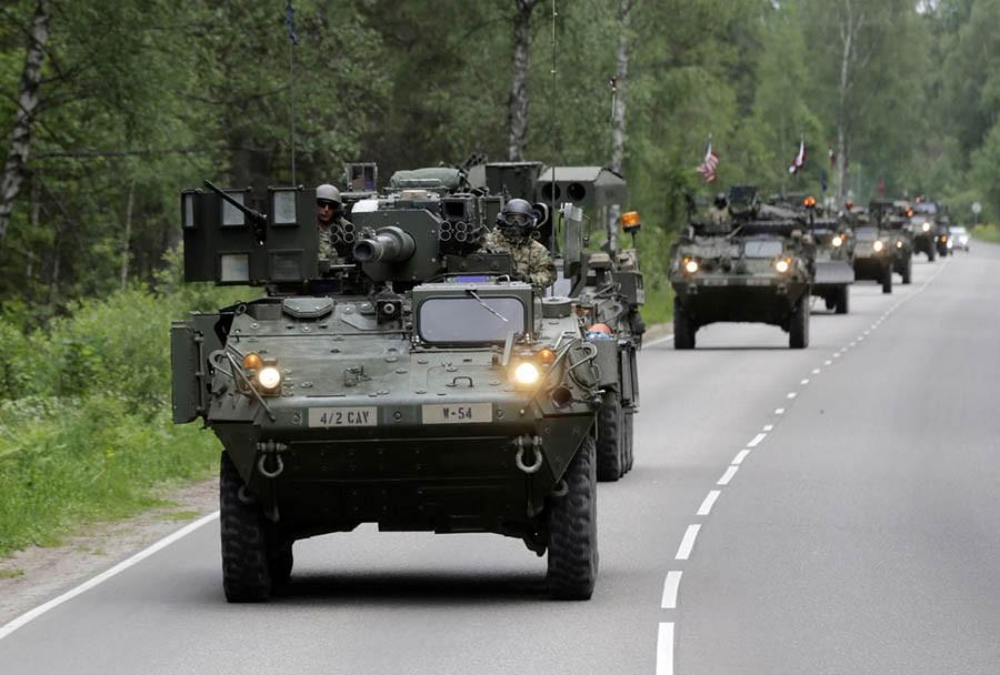Nato-Russian face-off