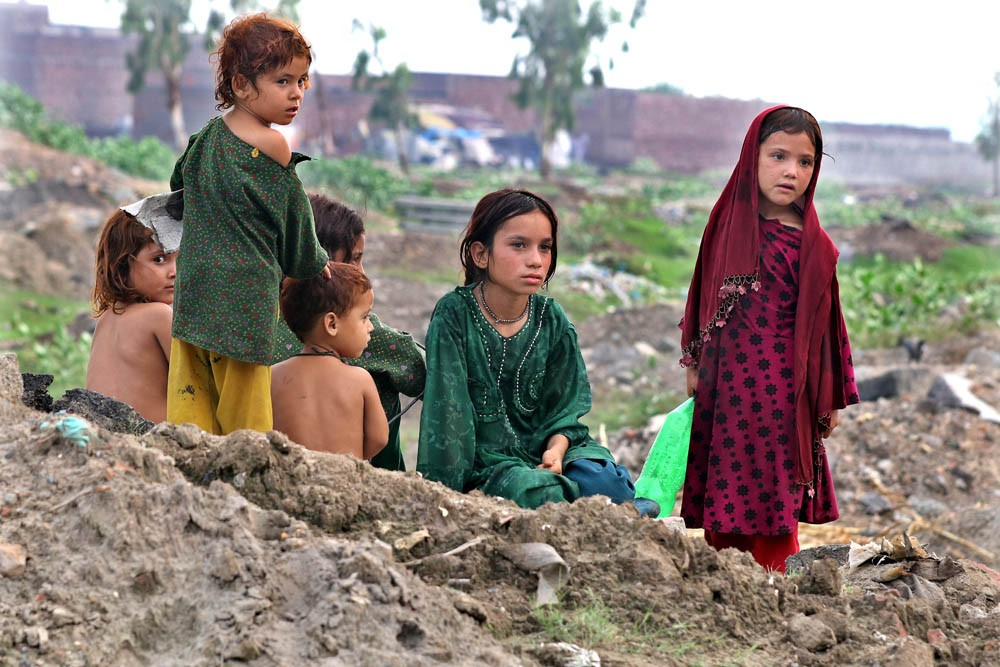 Afghans on the fringes