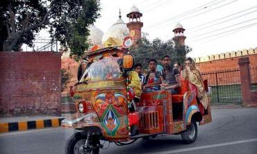 Rangeela ride to the Walled City