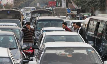Traffic in a mess