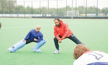 Coaching the goalies