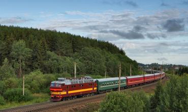 The longest train journey