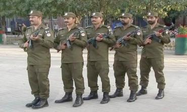 Police's new clothes