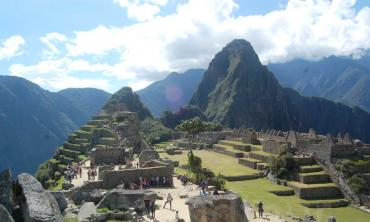 A tourist trap high in the Andes