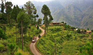 The scenic AJK