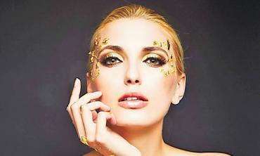 Cast in 24-carat gold