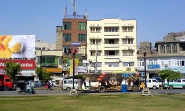 The Main (Market,) Lahore
