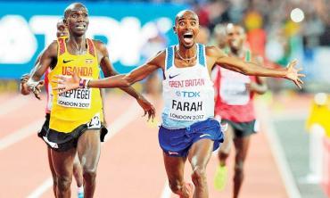 The arrival of Mohamed Farah