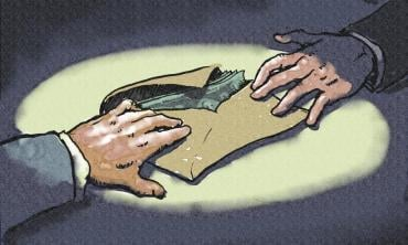 Power politics and corruption