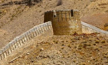 Along the Great Wall of Sindh