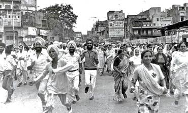 Khalistan, anti-Sikh pogrom, and poetry of 1984
