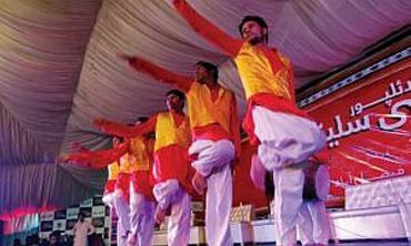 A festival dedicated to Punjab