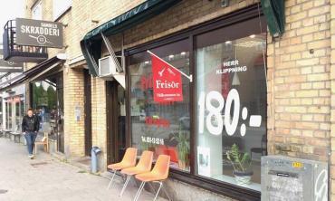 A haircut in Gothenburg