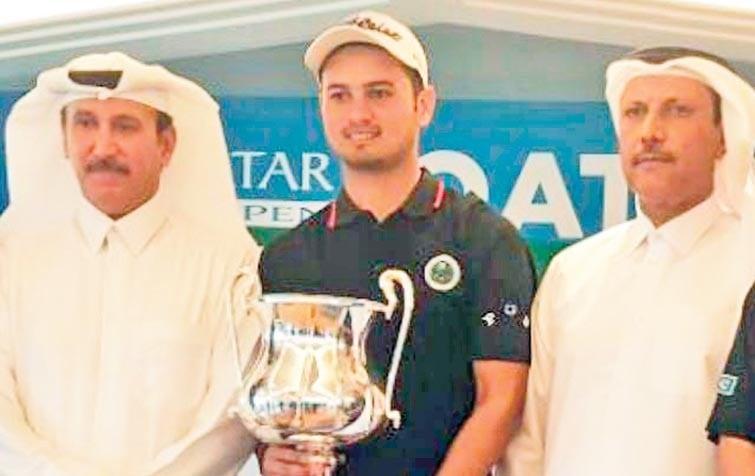 The golden boy of Pakistan golf