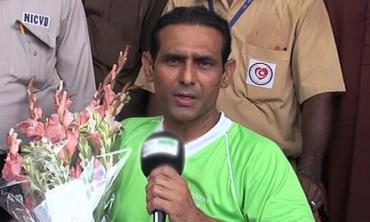 Mansoor Ahmed -- the darling of hockey lovers