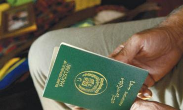 Travelling with the green passport