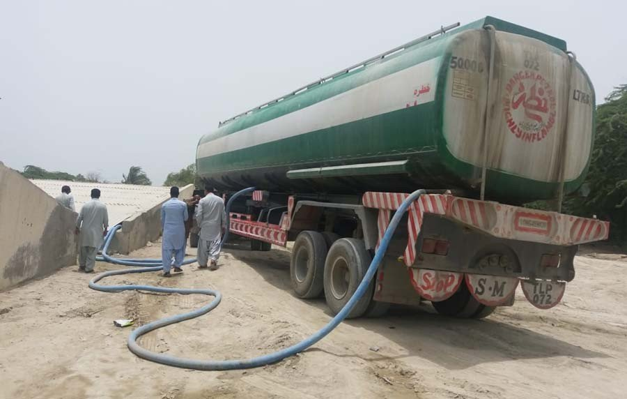 Welcome to thirsty Gwadar