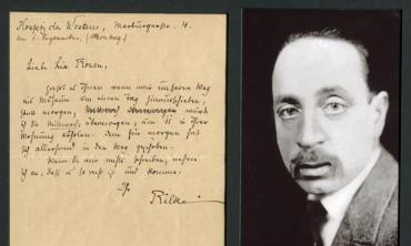 How to not write a letter like Rilke
