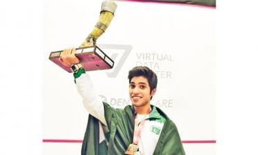 Ahsan Ayaz: squash's shooting star and more
