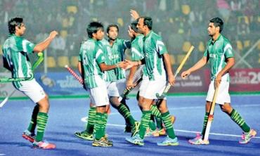 Pakistan and Asian Games Hockey