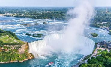 Face to face with Niagara