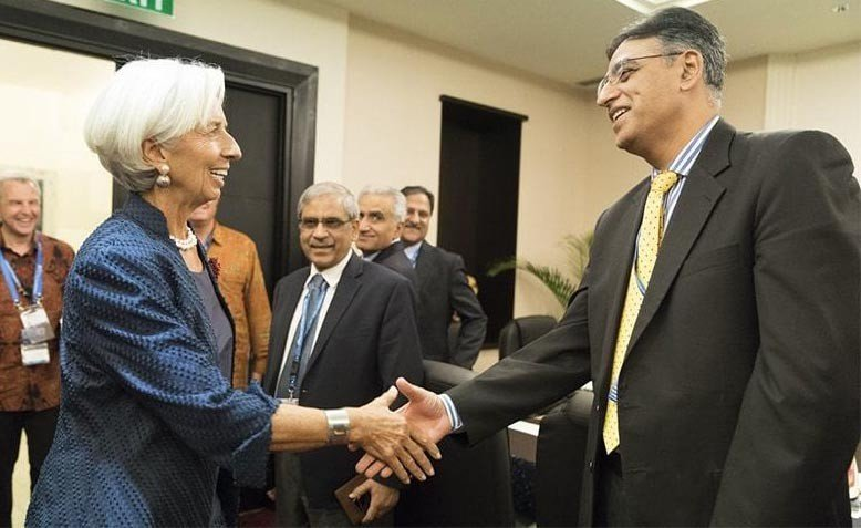 Knocking on the IMF door?