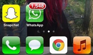 What's with WhatsApp