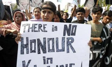 Honour killings on the rise